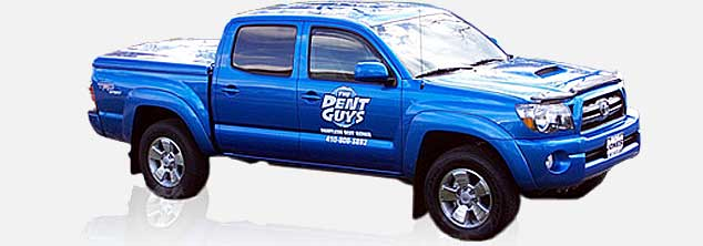 the dent guys truck, jimmy dents truck